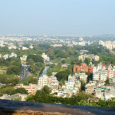 View of the skyline of Pune.